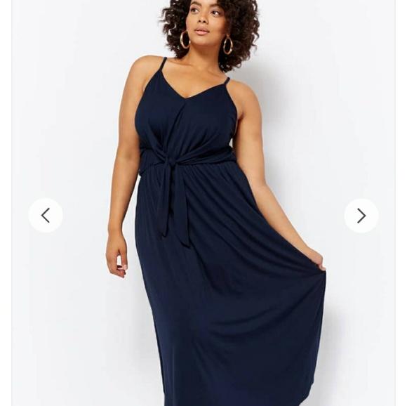 Marshalls Dresses Closet Clear Out 3x Tiefront Maxi Dress Poshmark